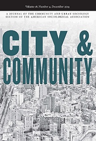 City & Community Journal Cover 2020