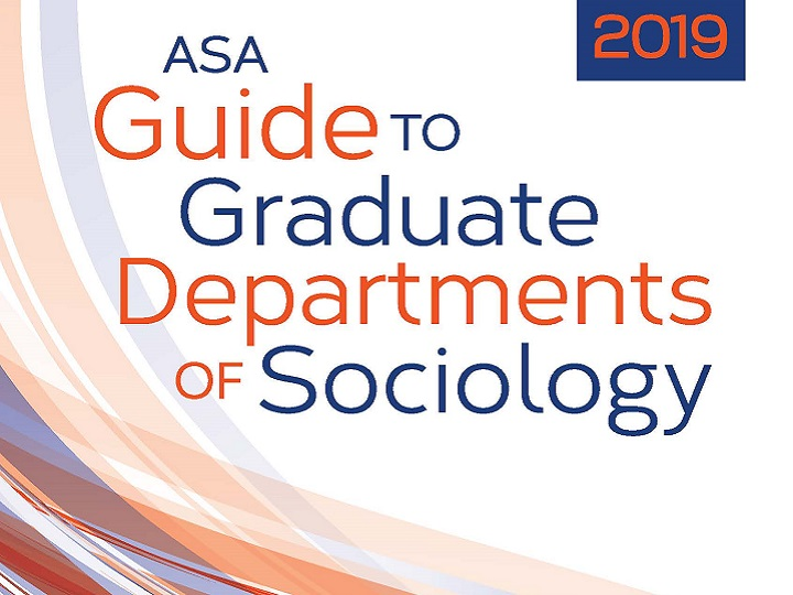 Cover of the 2019 ASA Guide to Graduate Departments of Sociology