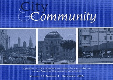 Cropped Cover of the December 2016 issue of City & Community.