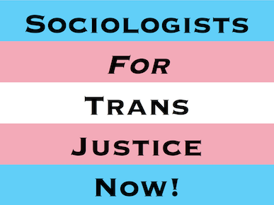 Sociologists for Trans Justice in Sociology Logo