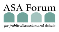 ASA Forum for Public Discussion and Debate