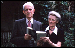 Florian and Eileen Znaniecki in July 1956