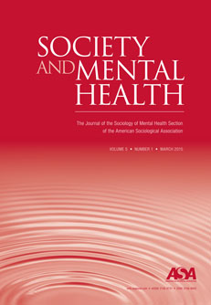 Society and Mental Health Cover