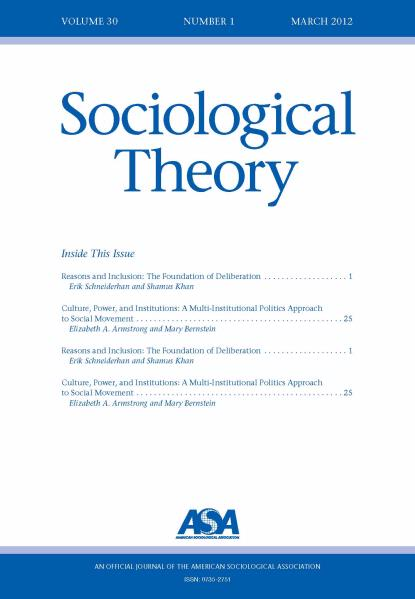 sociology research journal articles Recent articles 2016 research in the sociology of organizations, 40 journal of sociology and social anthropology thematic issue.