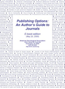 Publishing Options: An Author's Guide to Journals