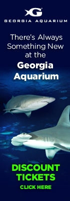 Georgia Aquarium Discount Tickets Banner