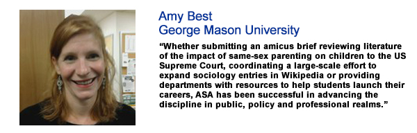 Amy Best, George Mason University