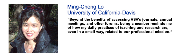 Ming-Cheng Lo, University of California-Davis
