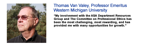 Thomas Van Veley, Profesdsor Emeritus, Western Michigan University
