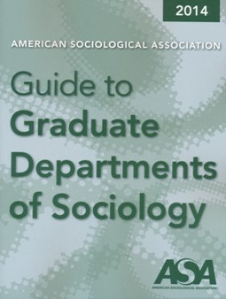 2014 Guide to Graduate Departments Cover