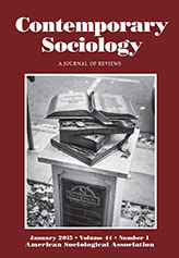 Contemporary Sociology cover
