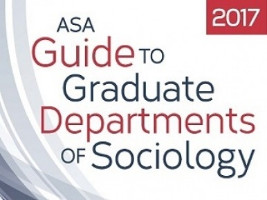 2017 ASA Guide to Graduates Departments of Sociology Cover
