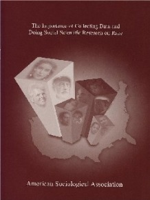 Cover of the ASA's The Importance of Collecting Data and Doing Research on Race