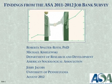 Job Bank 2012 Cover