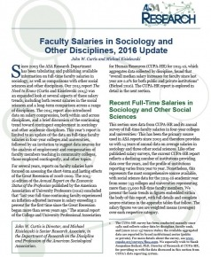 Cover for 2015-16 ASA Faculty Salaries Report