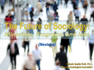 Future of Sociology Cover