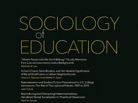 Cover of Sociology of Education